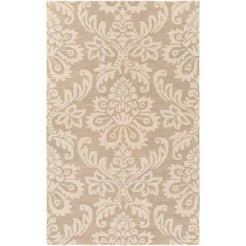 Rhodes Luna Beige and Off-White Rectangular: 8 Ft. x 10 Ft. Area Rug