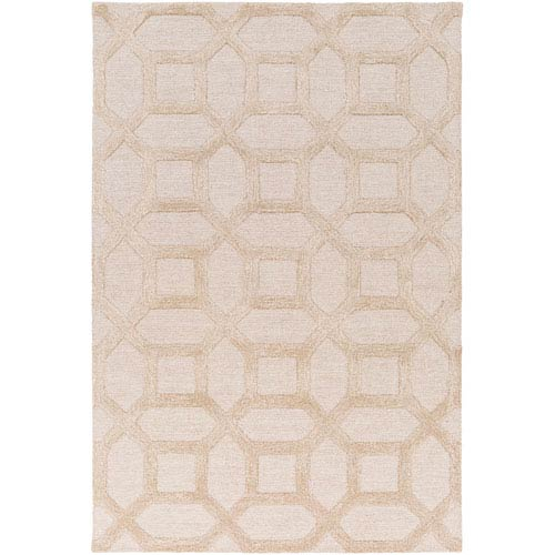 Arise Evie Ivory and Beige Rectangular: 3 Ft x 5 Ft Rug
