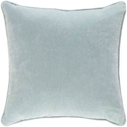 Artistic Weavers Safflower Ally Mint 18 x 18 In. Pillow with Down Fill