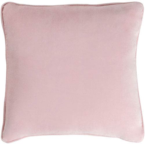 Artistic Weavers Safflower Ally 18-Inch Blush Pink Pillow Cover