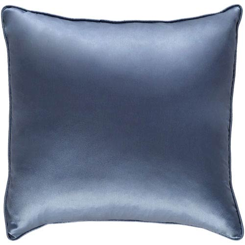 Artistic Weavers Tokyo Pree Denim Blue 18 x 18 In. Pillow with Down Fill