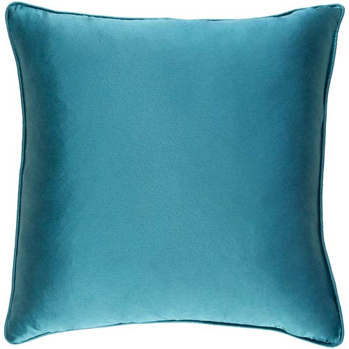 Artistic Weavers Tokyo Pree Teal 18 x 18 In. Pillow with Down Fill