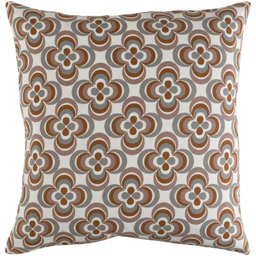 Artistic Weavers Trudy Rosa 18-Inch Pillow Cover and Down Insert