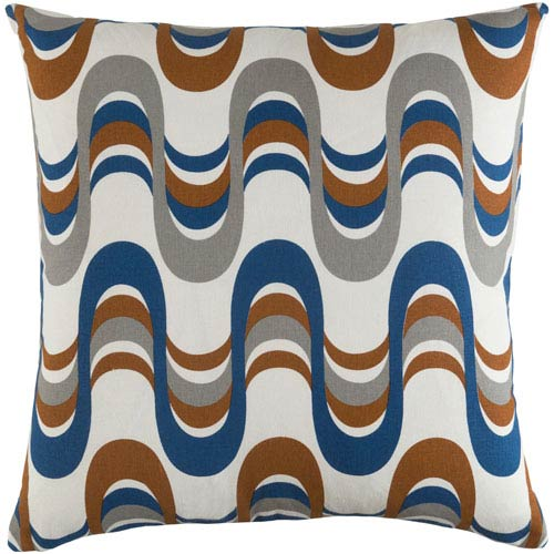 Artistic Weavers Trudy Wave 18-Inch Pillow Cover and Down Insert