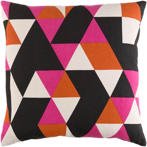 Artistic Weavers Trudy Geometry 18-Inch Pillow Cover and Poly Insert