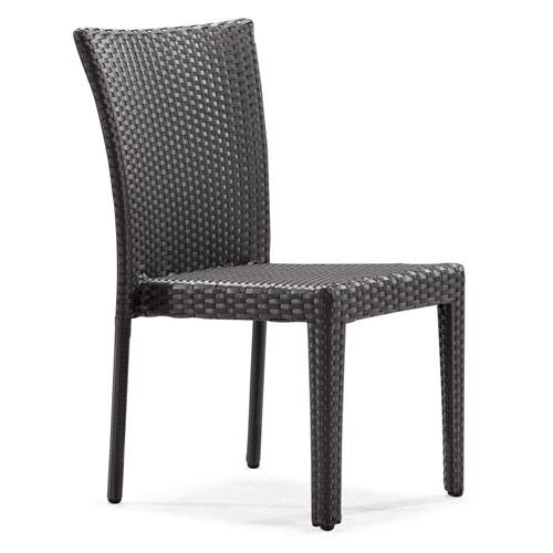Arica Black Weave Outdoor Chair
