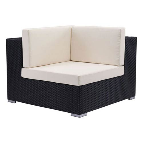 Zuo Modern Contemporary Cartagena Corner Chair Espresso