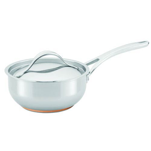 Nouvelle Copper Stainless Steel, 2-1/2-Quart Covered Saucier