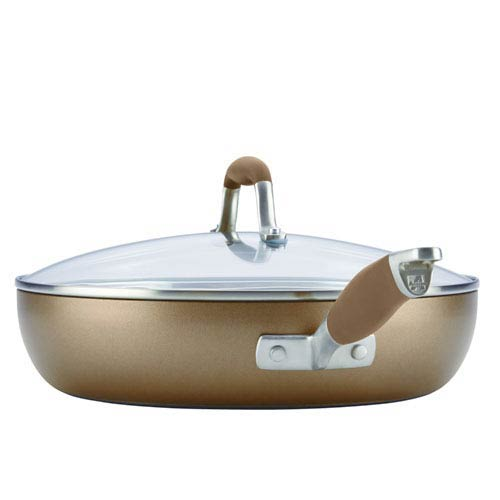 Advanced Bronze Hard-Anodized Nonstick, 12-Inch Covered Ultimate Pan