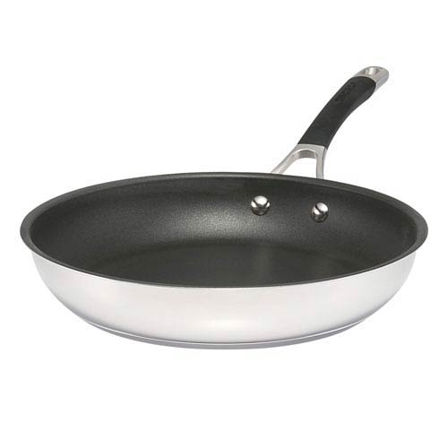 Momentum Stainless Steel 11.5-Inch Nonstick French Skillet