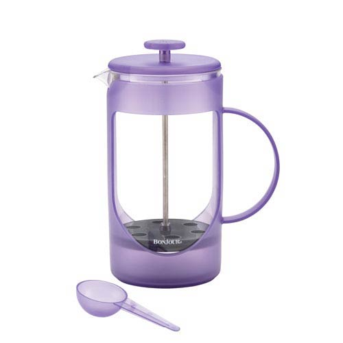 Unbreakable 33.8-Ounce French Lavender Plastic French Press