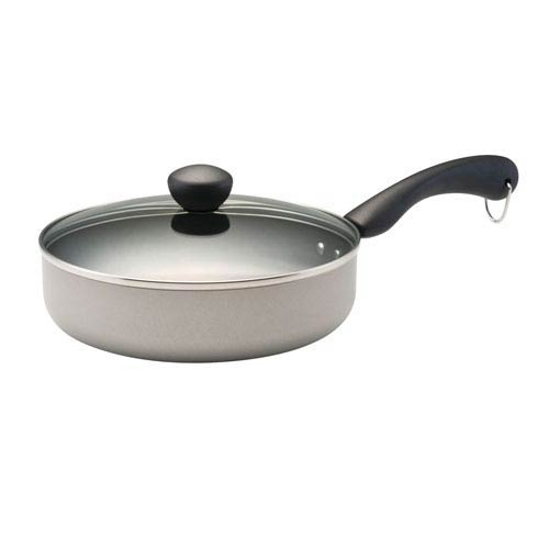 Aluminum Nonstick Champagne 2.75-Quart Covered Sauté