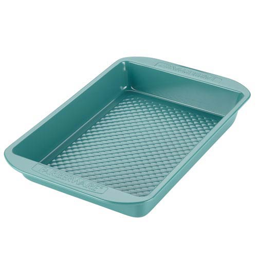 HybridNonstick Ceramic Aqua Baker and Rectangular Cake Pan