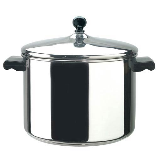 Classic Series Stainless Steel 8-Quart Covered Saucepot
