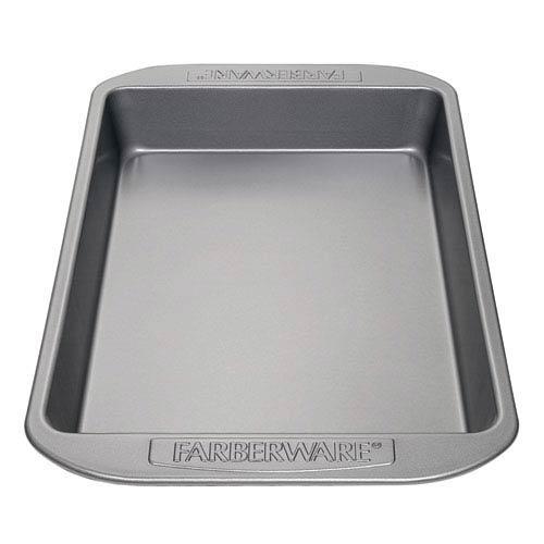 Nonstick Gray Bakeware Rectangular Cake Pan