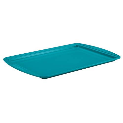 Blue Ceramic Nonstick Steel 10-Inch x 15-Inch Cookie Pan