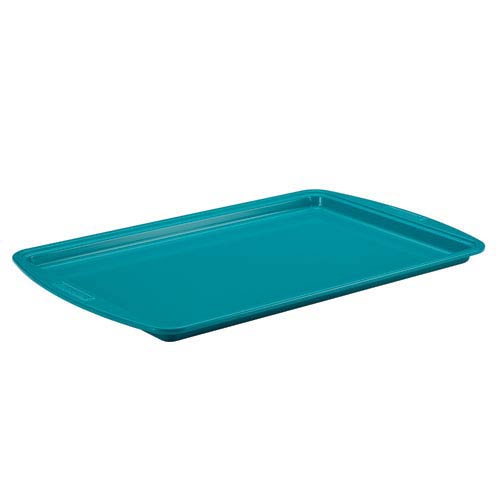 Blue Ceramic Nonstick Steel 11-Inch x 17-Inch Cookie Pan