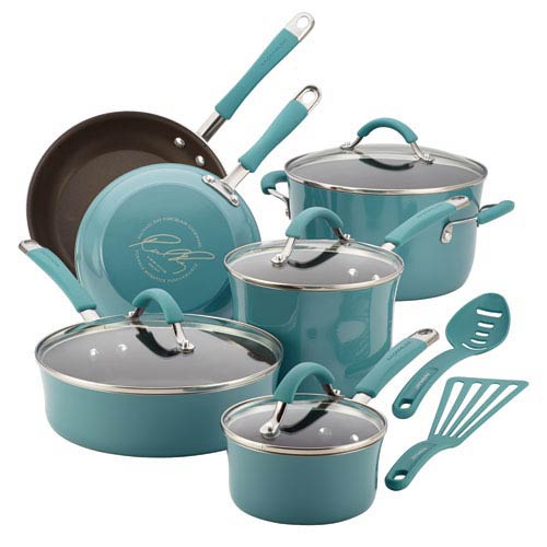Cucina, Blue Porcelain 12-Piece Set