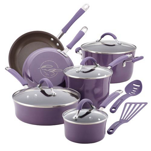 Cucina, Lavender Porcelain 12-Piece Set