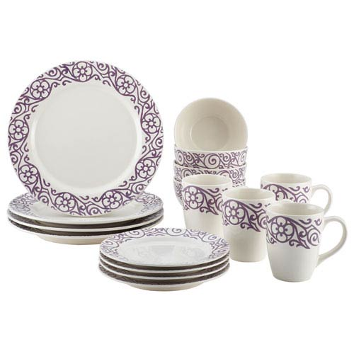 Lavender 16-Piece Scroll Set