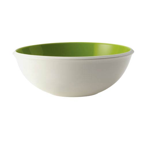 Rise Green 10-Inch Stoneware Serving Bowl