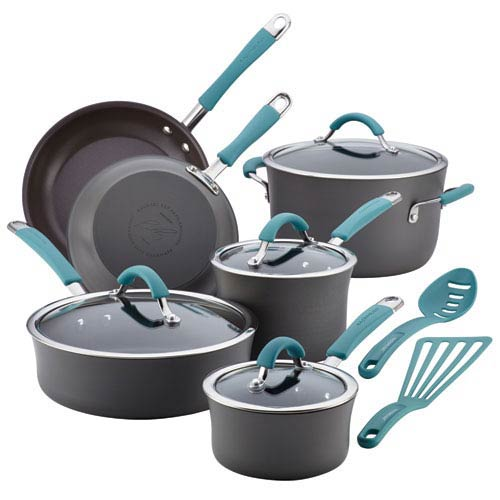 Cucina, Gray and Blue 12-Piece Set