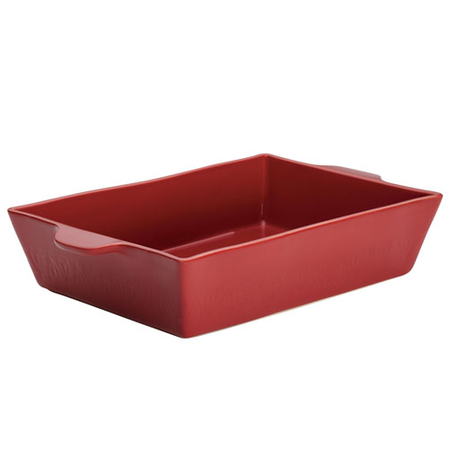 Home Collection Sienna Red 9 x 13 In. Stoneware Rectangular Baker