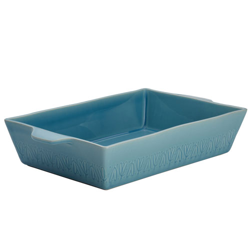 Home Collection Twilight Teal 9 x 13 In. Stoneware Rectangular Baker