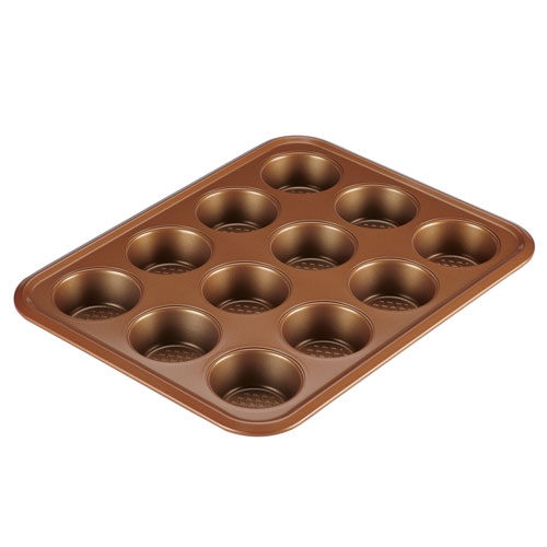 Copper 12-Cup Muffin Pan