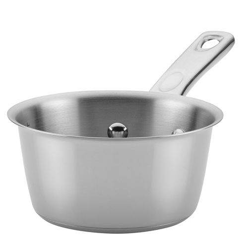 Home Collection 1-Quart Stainless Steel Saucepan