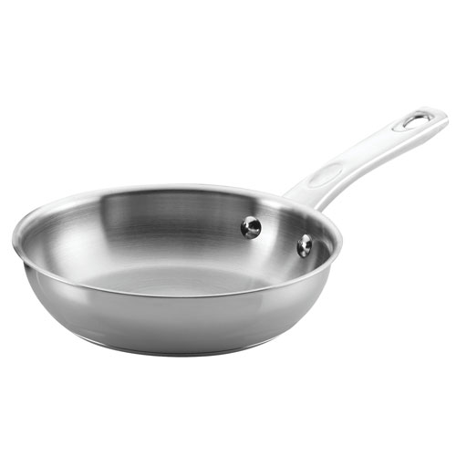 Home Collection 8.5 In. Stainless Steel Skillet