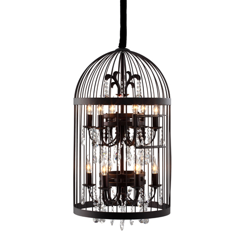 Canary Rust 12 Light Pendant