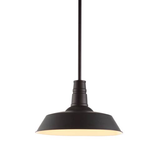 Zuo Modern Contemporary Tin Rust One Light Pendant