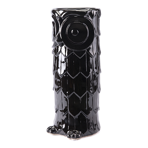 Zuo Modern Contemporary Owl Umbrella Stand Black