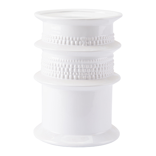 Cylinder Vase White