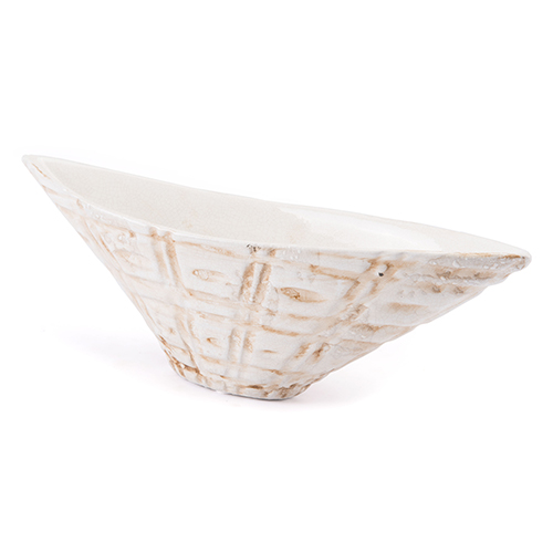 Zuo Modern Contemporary Kaban Bowl Ivory