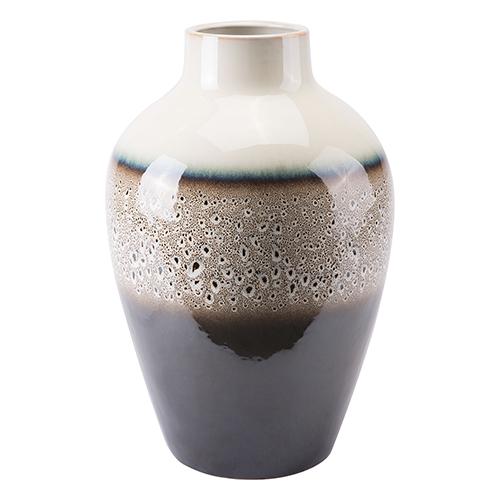 Dripped Medium Vase Multicolor