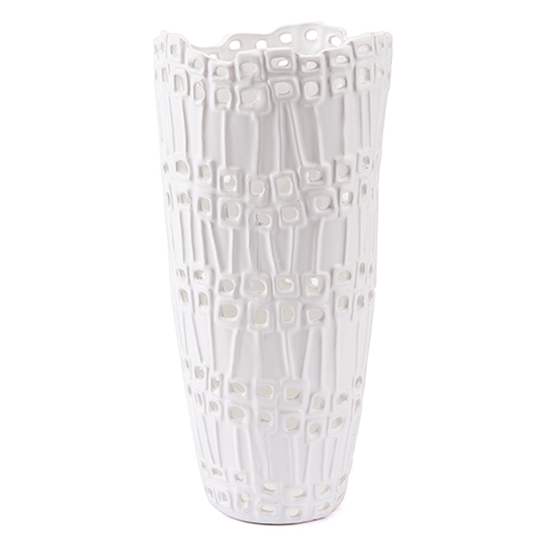 Zuo Modern Contemporary Cal Tall Vase White