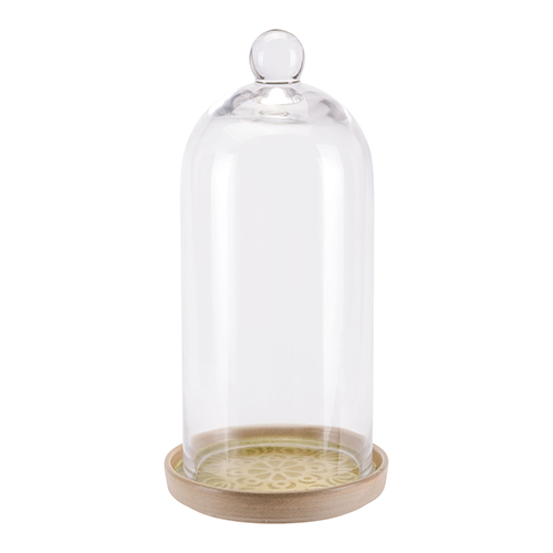 Zuo Modern Contemporary Glass Dome Small Green