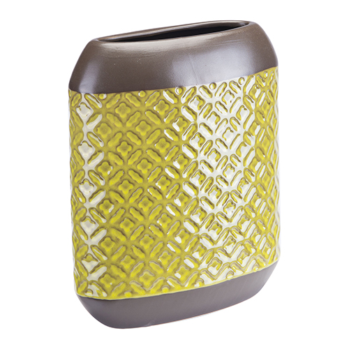 Zuo Modern Contemporary Square Planter Large Olive Green