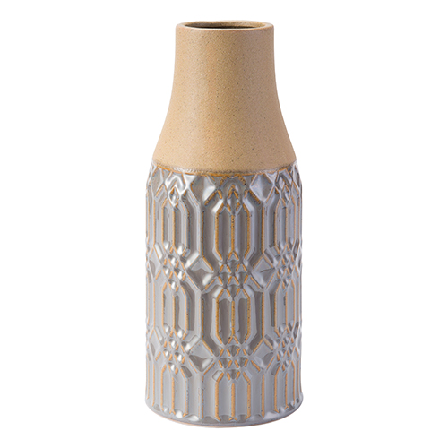 Tall Two-Tone Bottle Gray