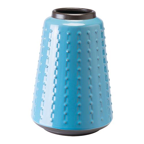 Zuo Modern Contemporary Dot Vase Small Blue