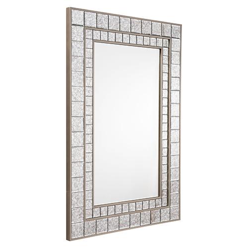 Zuo Modern Contemporary Mirror Mini Squares Mirror Antique
