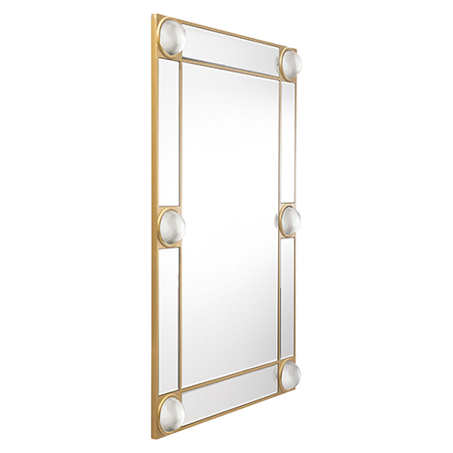 Rectangle Lucite Mirror Mirror and Lucite