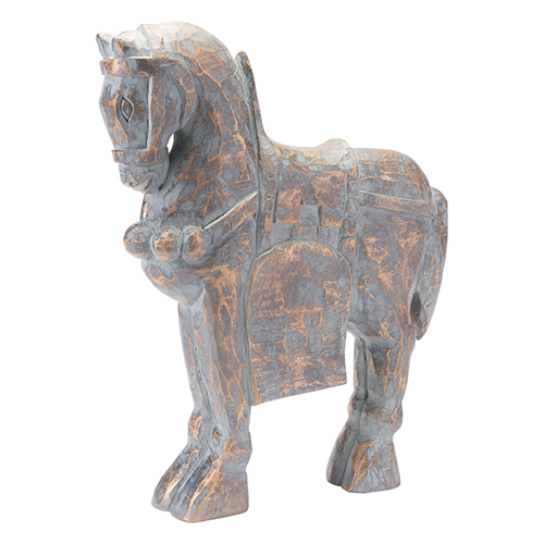 Zuo Modern Contemporary Solar Horse Large Antique Gold
