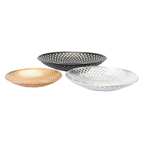 Zuo Modern Contemporary Set of 3 Plates Multicolor