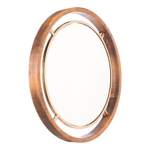 Round Gold Mirror Gold