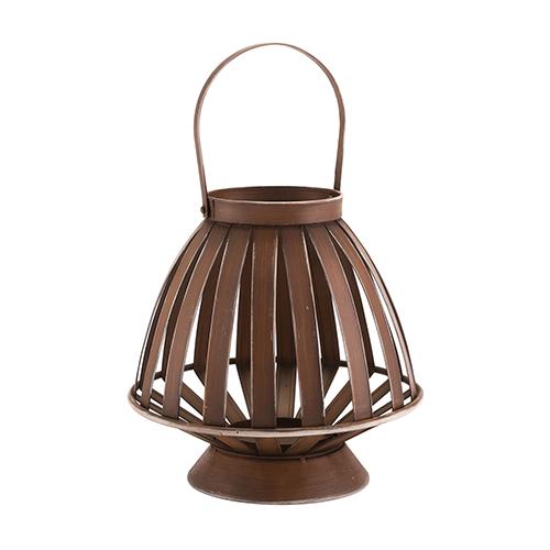 Zuo Modern Contemporary Bamboo Lantern Brown