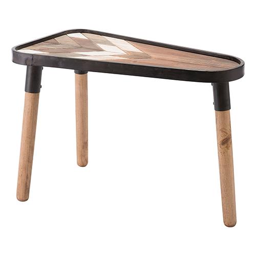 Arrow Table Small Brown