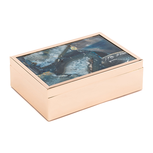 Blue Stone Box Large Blue